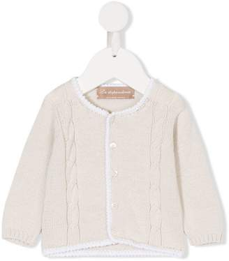 La Stupenderia knitted buttoned cardigan