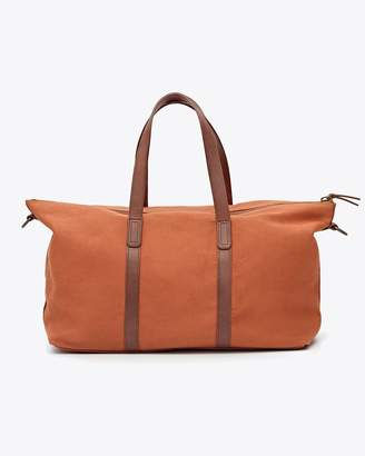 Nisolo Canvas Weekender Amber