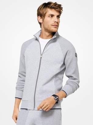 Michael Kors Cotton-Blend Track Jacket