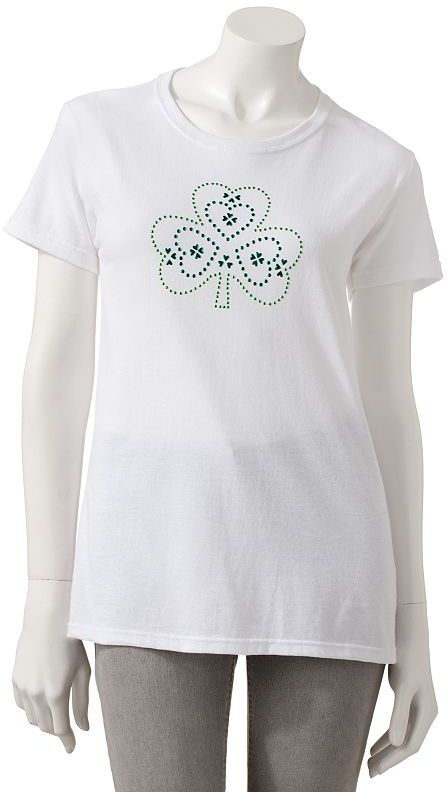 Mccc shamrock st. patrick's day tee