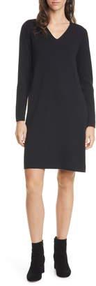 Eileen Fisher Long Sleeve Merino Wool Sweater Dress