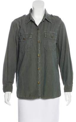 Current/Elliott The Perfect Shirt Button-Up Top