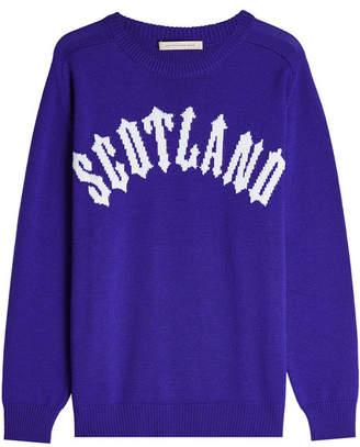 Christopher Kane Scotland Pullover in Virgin Wool