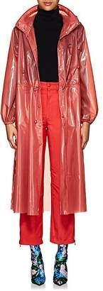Marine Serre Women's Transparent Rain Jacket - Pink