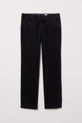 H&M Cotton Corduroy Pants - Blue