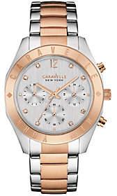 Caravelle New York Rosetone Women's Watch