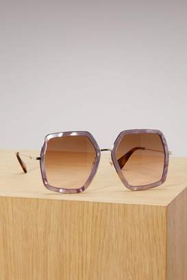 b7900ad31 Gucci Gold Sunglasses For Women - ShopStyle UK