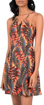Molly Bracken Paradise Printed Halter Dress