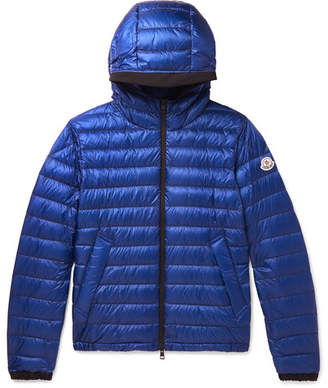 Moncler Morvan Quilted Shell Hooded Down Jacket