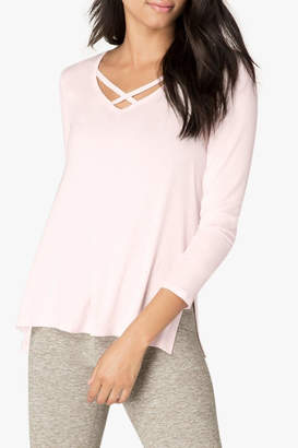 Beyond Yoga Criss-Cross Pullover