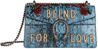 Gucci Small Dionysus Embellished Elaphe Shoulder Bag