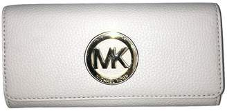 Michael Kors Fulton Flap Continental Leatherallet Clutch