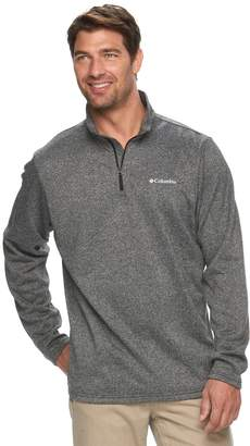 Columbia Big & Tall Dunsire Point Classic-Fit Colorblock Fleece Quarter-Zip Pullover