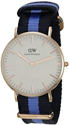 Daniel Wellington Women's Quartz Watch Classic Swansea Lady 0504DW with Plastic Strap