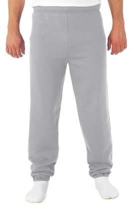 JERZEES Mens Soft Medium-Weight Fleece Elastic Bottom Sweatpants