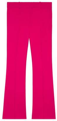 Gucci Viscose ankle length bootcut pant