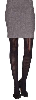 Emilio Cavallini Women's Cashmere Ribbed Tights