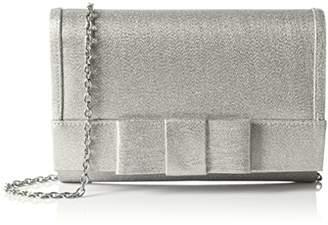 Menbur Women 84028 Clutch Silver Size: