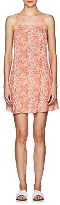Onia Women's Sasha Floral Plain-Weave Dress