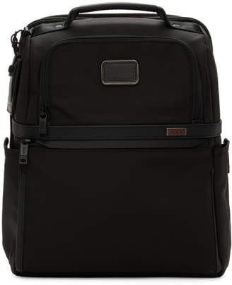 Tumi Black Alpha 3 Slim Solutions Brief Backpack