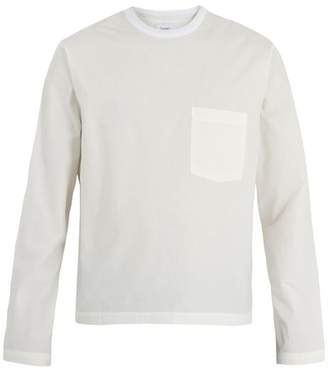 Fanmail - Crew Neck Cotton Poplin Top - Mens - White