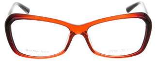Jimmy Choo Ombré Square Eyeglasses w/ Tags