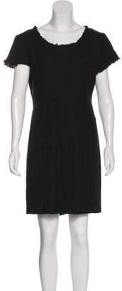 Tory Burch Short Sleeve Mini Dress