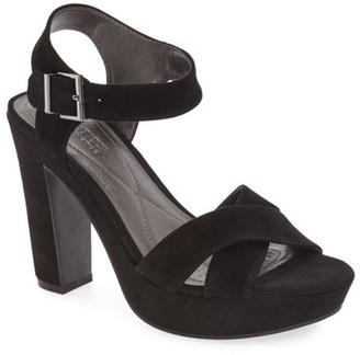 Kenneth Cole Reaction I Can Change Platform Sandal $89 thestylecure.com