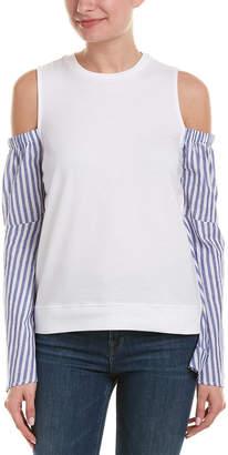 Romeo & Juliet Couture Bell-Sleeve Sweatshirt