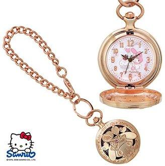 SANRIO (サンリオ) - SANRIO サンリオ KITTY キティ 透かし懐中ウォッチ 人気キャラクターの可愛い時計 マイメロディ SR-M02-MM
