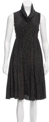 Fendi Printed Silk Dress