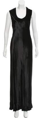 Alexander Wang Sleeveless Velvet Dress