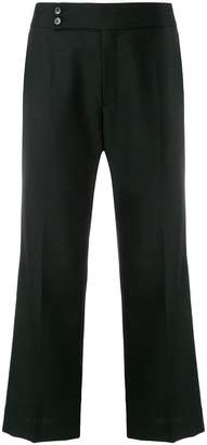 Hope flared cropped trousers