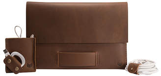 Capra Leather Walker Macbook Pro Retina Leather Case Set