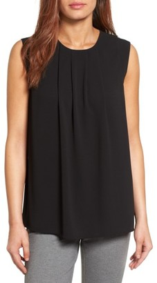 Women's Vince Camuto Pleat Front Blouse $69 thestylecure.com