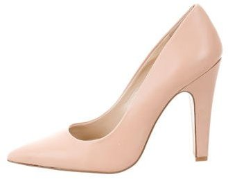 Vince Camuto Pointed-Toe Leather Pumps