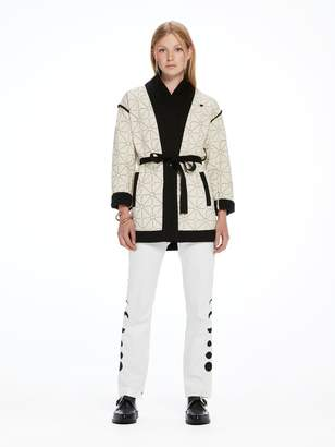 Scotch & Soda Quilted Kimono Blazer
