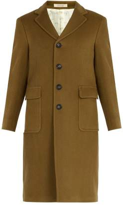 Massimo Alba - Patch Pocket Wool Coat - Mens - Camel