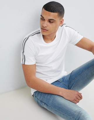 Jack and Jones T-Shirt With Arm Stripe
