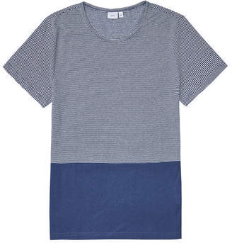 Onia Chad Colour Block Blue T-Shirt