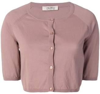 Max Mara 'S short-sleeve cropped cardigan