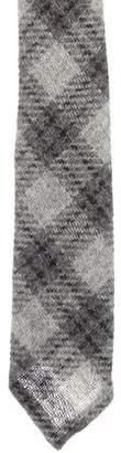 Thom Browne Wool Patterned Tie