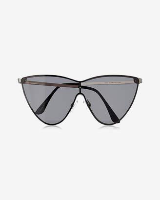 Express Cat Eye Shield Sunglasses