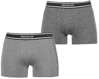 Soul Cal SoulCal Mens Cal Grindle Bxr S83 Boxer Underwear