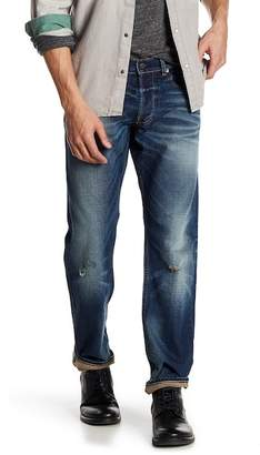 "Gilded Age Baxten Slim Fit Distressed Jeans - 32-34"" Inseam"