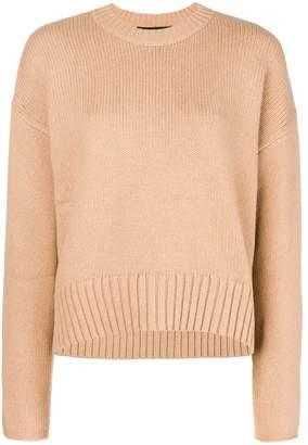 Proenza Schouler Wool Cashmere Crewneck Sweater