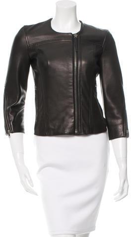 Helmut LangHelmut Lang Fitted Leather Jacket