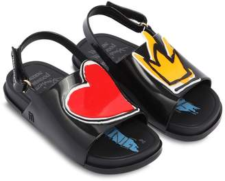 Mini Melissa Scented Vivienne Westwood Rubber Sandals