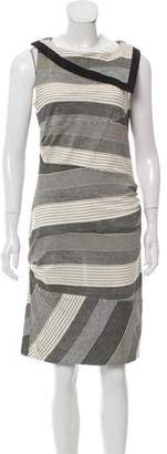 Peter Som Striped Knee-Length Dress