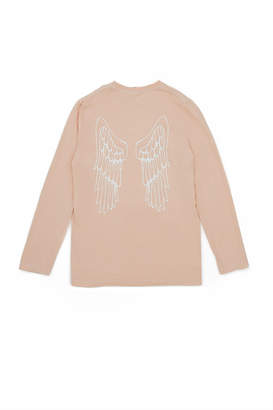 Angels In America X Oc X Andrew Garfield Angel Wings Long-Sleeve Tee